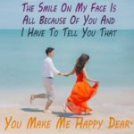 You Make Me Happy Quotes For Girlfriend
